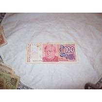 Aurojul-billete 100 Australes Banco Central Rep. Argentin