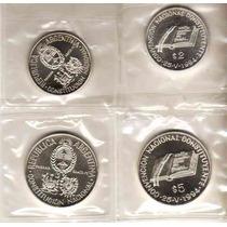 Monedas Convencion Constituyente Plata Año 1994 5000 Tirada