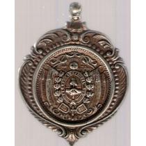 Medalla Ferrocarril Neuquen 1899 Exc+