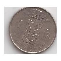 Belgica Moneda De 1 Franco Año 1966 Belgique !!!