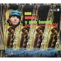 Gino Bonetti Sax Amor Vinilo Mejicano