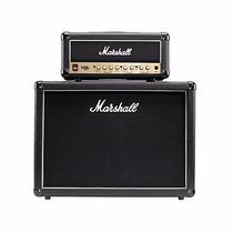 Set Marshall Cabeçote Dsl15h + Caixa Marshall Mx212 Mx 212