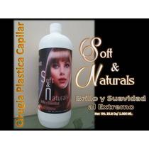 Cirugia Plastica Capilar Keratin Mix Soft Naturals 1 Litro
