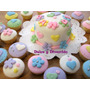 Mini Torta + 24 Cupcakes Personalizados! Precio Unico!