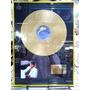 Michael Jackson Thriller Lindo Quadro Pintura Disco Ouro