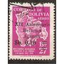 Bolivia Año1966 Serie De 1v. Yvert Aerea N°245 Usada