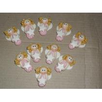 Apliques - Miniaturas Angelitos En Porcelana Fría