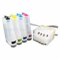 Bulk Ink Hp Pro 8100 E 8600 Com Chip Full E 400 Ml De Tinta