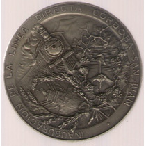 Medalla Ferrocarril Linea Directa Cordoba San Juan Exc