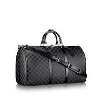 Maleta Louis Vuitton Keepall Graphite,monogram, 45 Bandolera