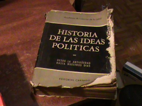 Resultado de imagen para historia de las ideas politicas