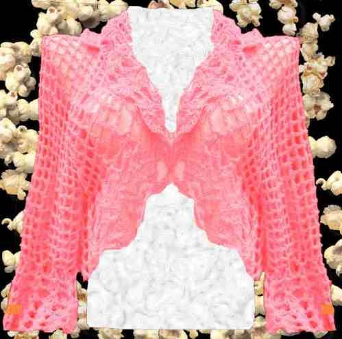 Bolero / Cmperita Crochet Para Todo El Año - $ 450,00 en Mercado Libre