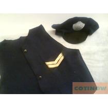 Gorra De Paño Para Policia Disfraz Gorro Halloween