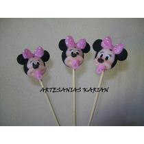 10 Palitos De Brochet Angelitos Minie Mickey