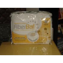 Cubre Colchon Protector Fiberball Ajustable Acolchad 130x190