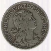 Portugal 1 Escudo 1928 Mb+