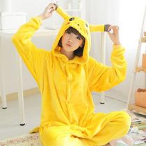 Pikachu Kigurumi Pijamas Kawaii Moda Japonesa Anime Cosplay
