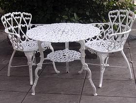 Oferta!!!! Juegos De Jardin En Aluminio Directo De Fabrica - $ 6.000 ...