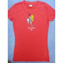 Hollister Camiseta Original Importada Nova Pronta Entrega