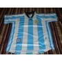 Camiseta Seleccion Argentina Adidas Año 1998 Talle Xs Niño