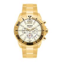 Relógio Orient Mgssc001 Dourado Quartz Luxuoso Charmoso