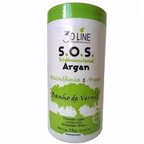 S.o.s Banho De Verniz 1kg 3d Line