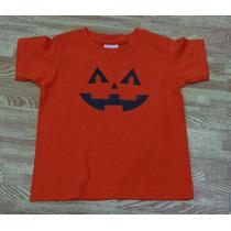 Playera Calabaza Día Muertos Halloween Bebé Niñ Babystore