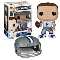 Funko Pop Tony Romo Dallas Cowboys Vaqueros Nfl Americano