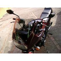 Bolha Pára-brisa Cbx 750f Honda Fume Claro