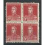 Estampillas Año 1927 Con Y Sin Punto Filigrana Ahorro Postal