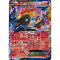 Carta Pokemon Moltres Ex Plasma Storm Inglês