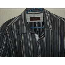 Camisa Importada Tasso Elba Fashion 100% Algodón Talla L