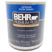 Pintura Vinílica Para Exterior Satin Blanco Ultra Pur