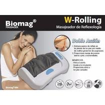 Masajeador Pies/ W- Rolling Massager Biomag Aparato Masaje