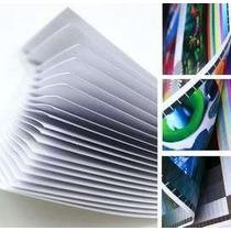100 Folhas Papel Glossy Fotográfico À Prova D´água 135g A4