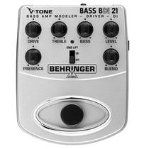 Pedal Para Baixo Behringer V-tone Bass Amp Bdi21
