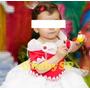 Vestido Fantasia De Festa Infantil ** Moranguinho **