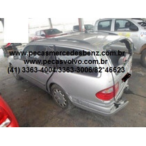 Mercedes E430 E320 E240 Touring Perua Em Peças/motor/cambio