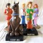 Turma Completa Salsicha E Scooby-doo 5 Bonecos Em Resina