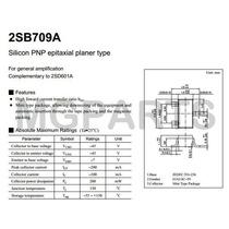 2sb709 Vs2sb709ar Trasistor Smd Sharp Parte Original