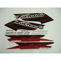 Adesivo Tornado 2003 Vermelha, Faixa Original Completa