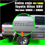 Calco 4x4 Turbo Toyota Hilux Srv 2002 2005 Calcomania
