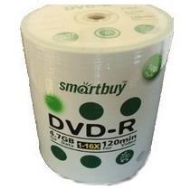 100 Dvd-r Smartbuy 16x C/logo ( Consulte Frete)