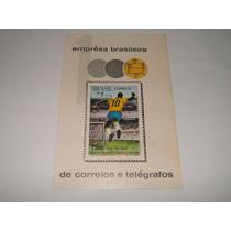 Selo Bloco - Pelé 1000 Gols / 1969