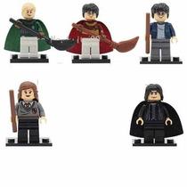 Harry Potter Kit Com 5 Personagens Compativel Lego