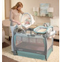 Cuna Corral Cuddle Cove Con Rocking Seat Graco