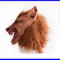 Máscara Lobo Hallowen Fantasia Festa Cosplay Temos Cavalo