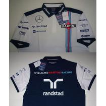 Camisa Polo Williams Martini Mercedes 100% Original Hackett
