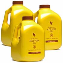 Suco De Aloe Vera Gel Kit 3 Unidades, Melhores Preços Do Ml!