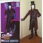 Willy Wonka Johnny Depp - Neca - Charlie Fabrica Chocolate